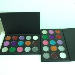Wholesale Mps Water - High quality MP eye shadow palette 15 color glitter eyeshadow powder shimmer makeup palette free shipping