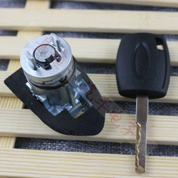 Wholesale Peugeot Door Locks - For Mondeo Car Central Door Lock Core For Ford Escort Replace with Key Front Left car lock Core