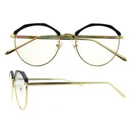 Wholesale Metals Weights - New arrival full-Rim round superfine and light weight classic metal frame eyeglasses for women eyewear frame