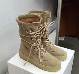 Wholesale Lace Ankle Platform Boots - New Season 2 Men Women High Dr 750 Boots Cow Suede Lace-up Platform Shoe 950 Martin Nubuck Leather Vintage Ankle Boot 36-46