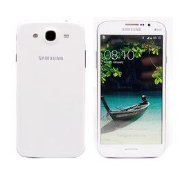 Wholesale Mobile Phone Box Original - Unlocked 5.8 inch Original Samsung Galaxy Mega 5.8 I9152 Cell Phone Dual Core 1.5GB RAM 8GB ROM Mobile phone 8MP camera sealed box epacket