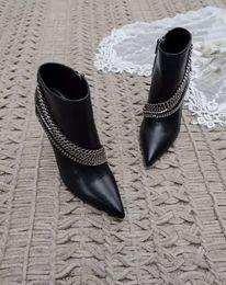 Wholesale Size Leopard Print Heels - High end ladies boots same as original :1shoppe copy sheepskin vamp and inside genuine letaher tread wear so luxury beautifull size 35-40