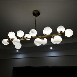12v lâmpadas pretas Desconto L12-Gold / Black Magic Bean Lâmpada Pingente Numerador de DNA Bola De Vidro Lustre Iluminação G4 Lâmpadas Levou para Sala de Jantar Sala de estar quarto