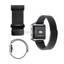 La cinghia magnetica del braccialetto della chiusura magnetica dell'acciaio inossidabile del cinturino del braccialetto di lusso milanese per gli orologi astuti della fiammata di Fitbit libera il DHL 50pcs da chiusure in acciaio inossidabile fornitori