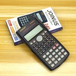 Moda El Çok fonksiyonlu 2 Satır Ekran Bilimsel Hesap Makinesi 82MS-A Matematik Öğretim için Taşınabilir Çok Fonksiyonlu Hesap Makinesi supplier graphing calculator nereden grafik hesap makinesi tedarikçiler