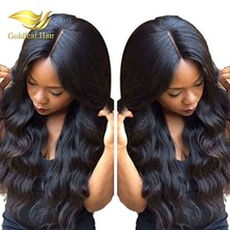 Wholesale Malaysian Virgin Hair Wavy Wigs - Human Hair Wig Top Quality Full Lace Wig Lace Front Wigs With Baby Hair Wholesale Price Body Wave Human Hair Wigs