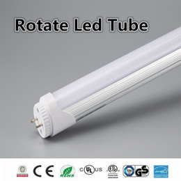 Wholesale Led Light Bulb Cheapest - cheapest rotate 4ft 1.2m 1200mm T8 t10 t12 Led Tube Lights Super Bright 22W Led Fluorescent bulbs Tube lamp AC85-277V CE ROHS UL FCC