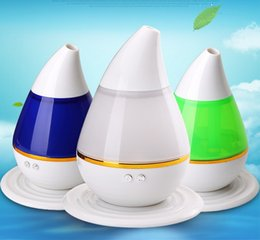Wholesale Cool Mist Ultrasonic Impeller Humidifier - 250ml Aromatherapy Essencial Oil Diffuser Color Changing Mini Mute Humidifier Portable Ultrasonic Cool Mist Aroma USB Humidifier for Vehicle