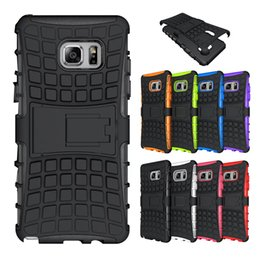 Wholesale Robot Silicone Hard Pc - For Galaxy Note 7 S7 edge Hybrid Shockproof Case Spiderman PC + Silicone Spider Robot Kickstand Hard Phone Cover for iphone 6 6s plus