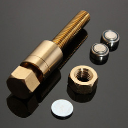 Palo de truco de magia online-Factory wholsale Magic Psychic Autorotation Nut Off Bolt Screw Close Up Truco Escenario Truco Props Juguetes Party / Christmas stick Juegos show
