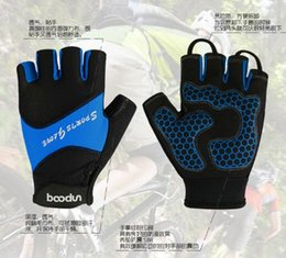 Wholesale Kids Cycle Gloves - Fingerless hiking gloves for kids children outdoor winter cycling gloves motorcycle bicycle free shipping