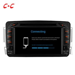 Wholesale Mercedes Benz Mirrors - Quad Core HD 1024*600 Android 5.1.1 Car DVD Play for Benz W209 with GPS Navigation Radio Wifi Mirror link DVR