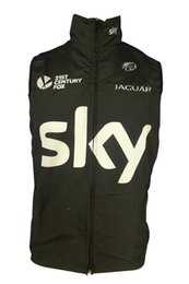 Wholesale Sleeveless Cycling Jersey Sky - 2016 SKY windproof Cycling Vest Cycling Jersey Sleeveless Quick Dry Ropa Ciclismo Summer MTB Bike Cycling Clothing