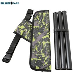 Wholesale Arrow Quivers - Camouflage Archery Hunting Arrow Quiver Water Resistant Archery Quiver Holder Caza Arrows Bow Quiver Bag For Outdoor Hunting order<$18no tra