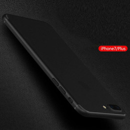 Wholesale Iphone Silicon Case Frosted - classics IPhone 7 case hot selling Soft frosted Silicon Cover TPU Frame for iphone 7 plus case phone cover DHL freen shipping