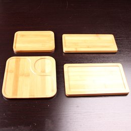 Wholesale Chinese Bamboo Tray - Chinese Bamboo Gongfu Tea Serving Tray Tabletop Tea Plate Dessert Coffe Candy