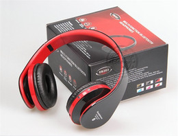 Wholesale Cell Phone Radios - Sorpu EB203 HiFi Deep Bass Wireless Stereo Bluetooth Headphone Noise Cancelling Headset With Mic, Support TF Card, FM Radio