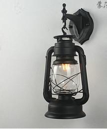 The Kerosene Lamp Wall Lamp Wall Led Light Bar Balcony Aisle European Retro Decorative Lighting Reminiscent Of Iron Lantern