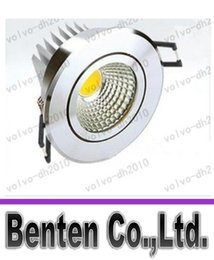 Wholesale Downlight Led Cob 25w - CREE High Power 10W 15W 25W COB LED Dimmable downlight LED ceiling lamp LED Recessed Spot Light LLFA187