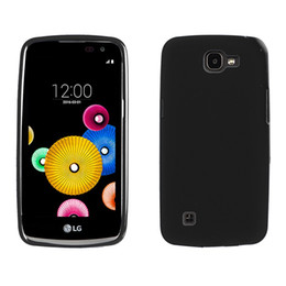 Wholesale thin cell phones for sale - Hot Sale Ultra Thin Soft TPU Case Durable Cell Phone Case For LG K4 Material case