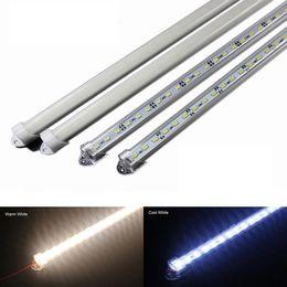 Wholesale Hard Shell Cooler - Factory Wholesale 50CM DC 12V 36 SMD 5630 LED Hard Rigid LED Strip Bar Light with U Aluminium shell +pc cover