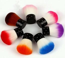 limpieza de cepillos de esmalte de uñas Rebajas Cepillo de uñas para acrílico UV Gel Nail Polish Art Decor Nails Limpiador de polvo Art Nail Tools