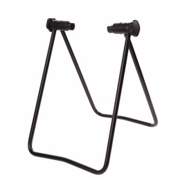 Wholesale Park Stand - Universal Flexible Bicycle Bike Stand Display Triple Wheel Hub Bike Repair Stand Kick Stand for Parking Holder Folding