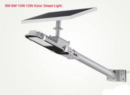 6w 8w 10w 12w solar panel outdoor led outside lights patio lighting rode garden lamps light