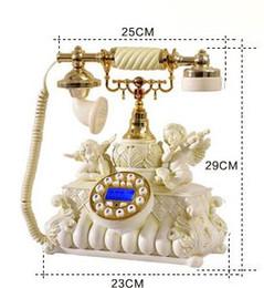 Top Dieu antique style européen campagne rétro téléphone téléphone en bois beau mariage fixe classique téléphone antique bois fixe ? partir de fabricateur