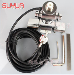 Wholesale Clip Car Antenna - Mobile radio Clip mount cable+mobile radio antenna mount nagoya RB-400 For Car Radio KT8900 KT-8900