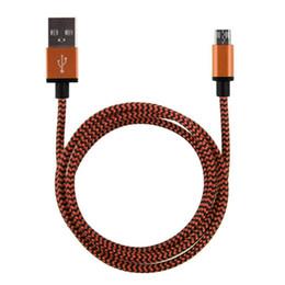 Длинные шнуры зарядного устройства онлайн-1 м 2 м 3 м длиной лучше для Samsung для LG сотовый телефон металлический сплав Micro USB синхронизации данных зарядное устройство кабель шнур