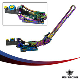 Wholesale Drifting Hydraulic Handbrake - PQY STORE- Universal Jdm Hydraulic Horizontal Rally Drifting E-brake Lever HandBrake NEO CHROME PQY3633NC