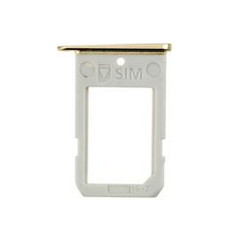 Оригинальный новый лоток SIM-карты для Samsung Galaxy S6 Edge G9250 G925F против G925t G925a G925v SIM-карты слот держатель запасные части 100 шт. cheap samsung s6 parts от Поставщики samsung s6 части