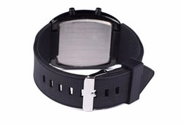 Wholesale Led Flashing Watch - Watches Men Flash Digital LED Military Watch Sports Race Car Meter Dial Watches 200PCS lot