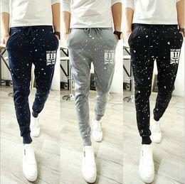 Wholesale Track Bottom Men - Wholesale-Mens Joggers New Fashion: Casual Harem Sweatpants Pants Trousers Sarouel Men Tracksuit Bottoms for Track