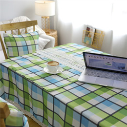 Wholesale Cotton Table Covers - New Arrive flax cotton Table Cloth 140*180 cm Print Cartoon Table cloth Dining Kitchen Table Protector Covering Top Quality
