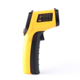 Wholesale Digital Lcd Display Infrared Thermometer - Infrared Thermometer Non Contact Type Measure High Temperature Handheld Industrial Home Purpose Digital LCD Display Top Quality 37 xr R