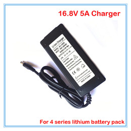 Wholesale 4s Battery Lithium - High quality 16.8V 5A lithium DC battery charger Used for 4S 14.4V 14.8V Battery pack with CE RoHS Certification