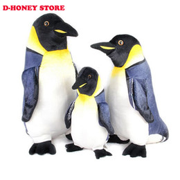 Wholesale Cute Penguin Plush Toys - 35CM Plush toys penguin doll Cute Christmas Birthday Festivalbest gift soft Doll Toy penguin stuffed animals free shipping