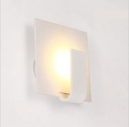 Wholesale Led Wall Lights Living Room - modern wall sconces 3w led wall lights bedside dining living room lamps for home indoor lighting fixture