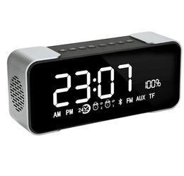 Wholesale Audio Clock - PTH305 Bluetooth Speaker Wireless Stereo Hi-Fi Music Outdoor Sound Box Support FM Radio Alarm Clock Player Retail Package