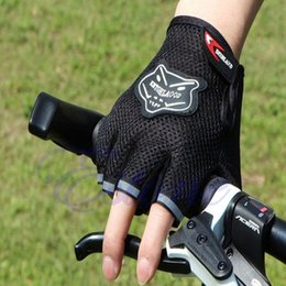 Wholesale exercise bicycles - Wholesale- Bicycle Motorcycle Gloves Weight Lifting Fitness Sports Gym Body Building Exercise Training Workout