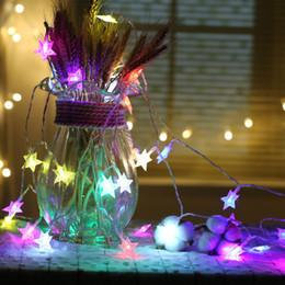 Wholesale Led Mini Ligh - 6M 40LEDs AA Battery Operated Led String Mini LED star String Fairy Light Christmas Xmas Home Party Decoration Ligh