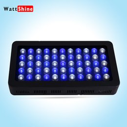 Wholesale Reef Aquarium Led Dimmable Light - Newest and best seller Dimmable 165W Led Aquarium Light white black high Quality aquarium led lighting for Coral reef growth Fish Tank