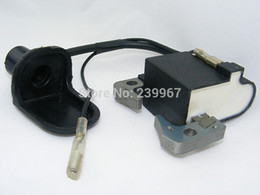 Wholesale Oem Bike Parts - Ignition coil for Robin NB411 EC04 BG411 CG411 Trimmer 33CC 43CC 47CC 49CC MINI ATV pocket dirt bike repl. OEM P N 541-70230-20