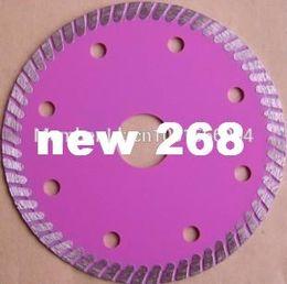 "Wholesale Saw Blade Diameter - 6 PCS lot 115mm ultra thin 1.2mm thick cutting disc ,ceramic tile cutting ,diameter 4.5"" thin diamond saw blade bore 22.3mm, segment 7mm"