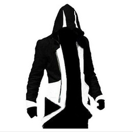 Wholesale Ezio Costume Assassin - 20pcs Assassins Creed Cosplay Costume Ezio Costume Assurance 3 New Kenway Men's jacket anime cosplay Women Halloween costumes