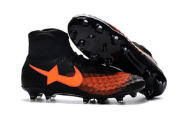 Wholesale Matches Waterproof Outdoor - 2016 new style Magista OBRA II top high to help ACC waterproof color matching FG football boots soccer shoes soccer cleats