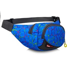 Wholesale Tie Dye Bags Wholesale - Wholesale free shipping Hot Selling Outer Space Galaxy Rave Festival Fanny Pack Durable Nylon Waist Bag