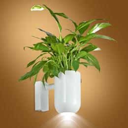 Wholesale Novelty Wall Lamps - 2017 year news led plant health white wall light led plant wall lamp light grow flower health lamp bathroom light